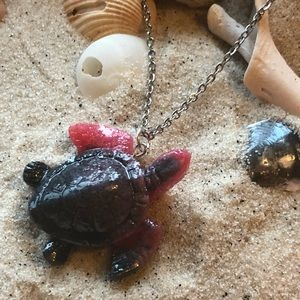 Sea turtle necklace and chokers